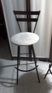 Pub height swivel chairs MOVING NEED SOLD