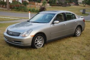 2003 Infiniti G35 Sedan RWD Automatic Excellent Condition