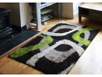 Shabby chic modern living room rug 90cm by 180cm