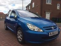 PEUGEOT 307 1.4 2004/54 40K MILES HPI CLEAR £1295 Ono