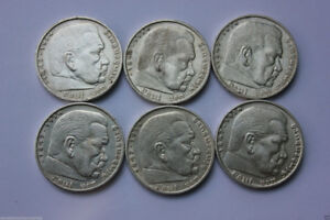 Silver Coin Nazi Germany  _ 1934