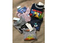 New baby boy clothes 9-12 months