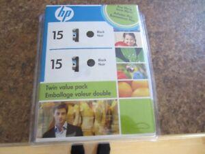 Cartouches d'encre HP inkjet 78 (1 X) et HP 15 (2 X)