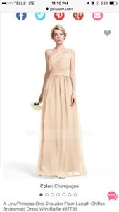 Bridesmaids Dress (Champagne)