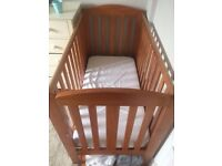 Takeley Cot bed with mattress (120cm x 60cm)