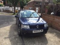 VW polo 1.4 with full leather interior, heated seats and low mileage