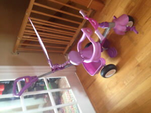 Little tikes 4 in 1 tricycle Pink/Purple