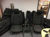 L@@K FINAL REDUCTION - BMW 5 SERIES (F11) INTERIOR BLACK CLOTH