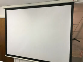 """93"""" Pull Down Projector Screen"""