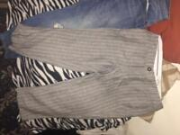 Fat face pinstripe trousers