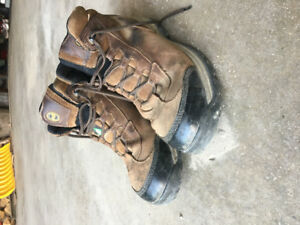 Timberland Steel Toe Boots - CSA Approved - Size 10