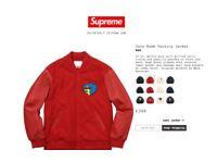 SUPREME Gonz Ramm Varsity Jacket Brand new WITH PROOF