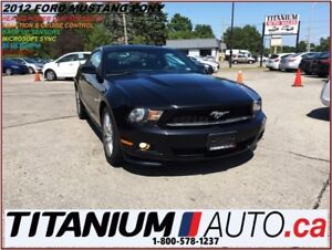 2012 Ford Mustang Pony Edition+SYNC+Heated Leather Seats+Back Up