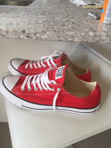 Brand New Converse All-Stars - Red - Size 11.5