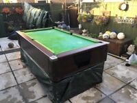 6x3 ascot pool table