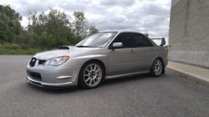 Subaru impreza wrx sti 2007 forged tune bbs turbo invidia mint