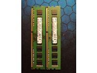 16G (2X8G) DDR3 1600 Samsung desktop memory set