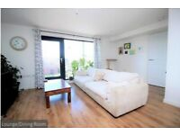 Double bedroom in modern flat