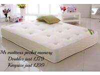 ✅ HALF PRICE ~ 1000 POCKET SPRUNG & MEMORY TOPPED ~ HOTEL FIRM MATTRESSES ~ 5 STAR REVIEWS