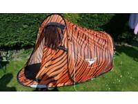 One man pop up tent