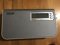 Sony XDR-S50 - Portable DAB Radio with 4 x AA batteries