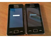 2 x working Samsung Mobile Phones