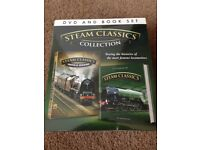 Trains DVD BNIB steam train collection
