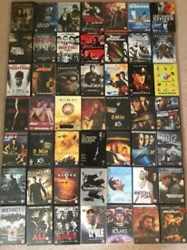 Various Action / Comedy DVDs - 50p each