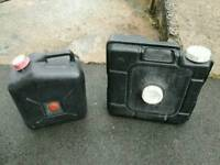 Water containers camping