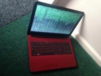 "Red HP laptop 15.4"" display"