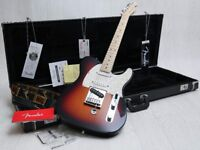 Fender American Nashville B-Bender Telecaster Sunburst & Fender Case & Tags