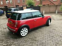 2003 Mini Cooper Red, 2 keepers,miles 60k, 116BHP, Full leather, can deliver