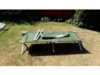 Aluminium foldable camp bed