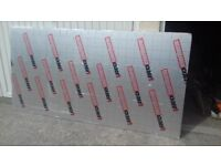 "Brand New and unused 8'x4' sheets of IKO Enertherm insulation sheet 2"" thick"