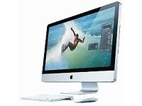iMac 27 Intel Quad Core i5 3.1GHz 16GB RAM 2TB HDD 2GB Graphics Wireless Keyboard & Mouse Working