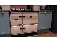 STANLEY GAS RANGE COOKER LIKE AGA WATERFORD CREAM FULL WORKING ORDER RECENTLY SERVICED