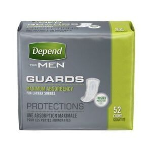 Depend Men's Maximum Absorbency Protections Guards