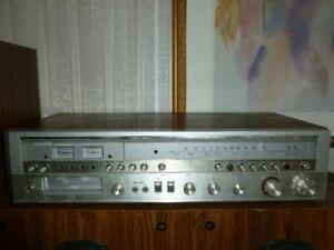 Vintage Viking 8 Track Stereo Receiver Fm/Am