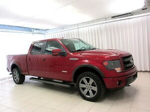 2014 Ford F-150 FX4 4X4 4DR DOUBLE CAB ECO BOOST!
