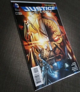 The New 52 JUSTICE LEAGUE issue no. 40