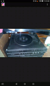 Am selling everything on it record player and cd $130 I took the