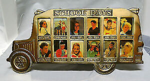 Gr k-12 School Bus Picture Frame