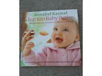 Annabel Karmel weaning book plus Sara Lewis weaning boom
