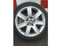 "17"" BMW 3 Series Alloys with Good Tyres"