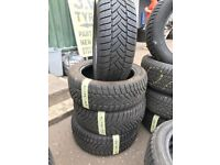 215/50/17 Dunlop Winter tyres like new x4
