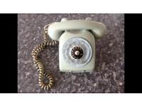 Ericson 1960's vintage dial phone