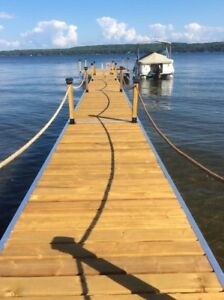 Custom Aluminum Docks, Ramps, Steps and Stairs