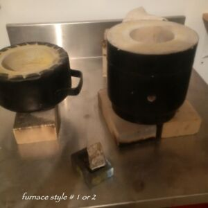 GOLD - SILVER  1 - 3  KILO MELTING FURNACE