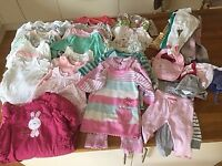 Large bundle of baby clothes - 3 to 6 months