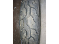 SCOOTER TYRE SIZE-90 X 90 X 12 AS NEW